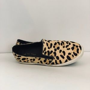 Reaction Leopard slip-on athletic calf hair 8.5
